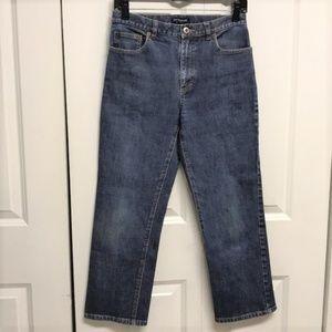 Ann Taylor Cropped Jeans Size 6 Stetch